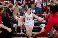 STANFORD, CA - JANUARY 18, 2013.  Stanford Women's Basketball plays UCLA in a PAC-12 regular season contest at Maples Pavilion at Stanford, California.  Stanford won, 75-49.