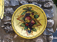 Handmade Ceramics, Ravello, Amalfi Coast; Campania, Italy, Europe, World Heritage Site