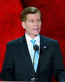 Governor Bob McDonnell (Republican of Virginia) makes remarks at the 2012 Republican National Convention in Tampa Bay, Florida on Tuesday, August 28, 2012.  .Credit: Ron Sachs / CNP.(RESTRICTION: NO New York or New Jersey Newspapers or newspapers within a 75 mile radius of New York City)