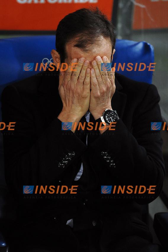 Massimiliano Allegri Juventus <br /> Roma 04-12-2015 Stadio Olimpico Football Calcio 2015/2016 Serie A Lazio - Juventus Foto Andrea Staccioli / Insidefoto