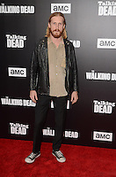 HOLLYWOOD, CA - OCTOBER 23: Austin Amelio at AMC Presents Live, 90-Minute Special Edition of 'Talking Dead' at Hollywood Forever on October 23, 2016 in Hollywood, California. Credit: David Edwards/MediaPunch