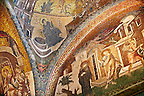 The 11th century Roman Byzantine Church of the Holy Saviour in Chora and its mosaics endowed between 1315-1321  by the powerful Byzantine statesman and humanist Theodore Metochites. Istanbul