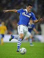 FUSSBALL   EUROPA LEAGUE   SAISON 2011/2012   Play-offs FC Schalke 04 - HJK Helsinki                                25.08.2011 Ciprian MARICA (FC Schalke 04)