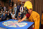 The Monks of Gaden Shartse Monastery Tour &quot;Sacred Earth and Healing Arts of Tibet&quot; in Encinitas, California. Note: A portion of the proceeds from the sale of this image will be donated to the Monks of Gaden Shartse.  Please respect that licensing of this image is limited - approval for use must be granted by the photgrapher.