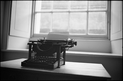 Typewriter, Ickworth Hall by Paul Cooklin