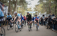 Allesandro Ballan, Johan Vansummeren & belgian national coach Kevin De Weert are among the many ex-pro's to show up at the Tom Boonen farewell race/criterium 'Tom Says Thanks!' in Mol/Belgium