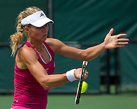 Maria KIRILENKO (RUS) against Melinda CZINK (HUN) in the second round of the women's singles. Kirilenko beat Czink 4-6 6-2 7-6..International Tennis - 2010 ATP World Tour - Sony Ericsson Open - Crandon Park Tennis Center - Key Biscayne - Miami - Florida - USA - Fri 26 Mar 2010..© Frey - Amn Images, Level 1, Barry House, 20-22 Worple Road, London, SW19 4DH, UK .Tel - +44 20 8947 0100.Fax -+44 20 8947 0117