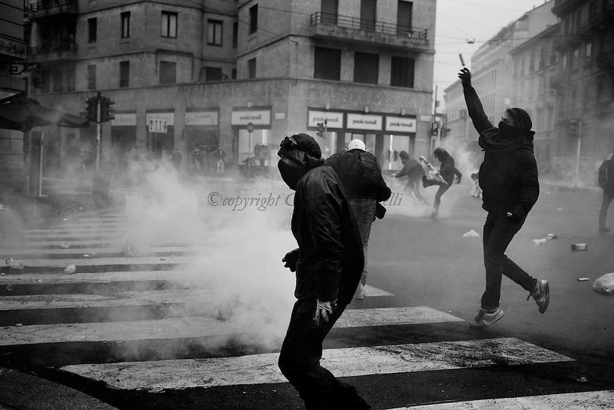 Riot Porn in Milan
