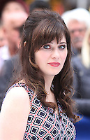 APR 14 Zooey Deschanel at Good Morning America NY