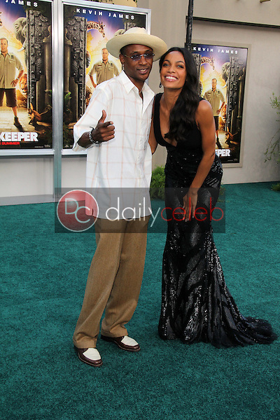 Tommy Davidson, Rosario Dawson<br />