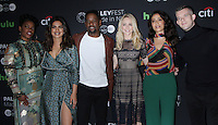 NEW YORK, NY-October 17: Aunjanue Ellis, Priyanka Chopra, Blair Underwood,Johanna Braddy,Yasmine al Massri, Russell Tovey at PaleyFest New York presents Quantico at the Paley Center for Media in New York.October 17, 2016. Credit:RW/MediaPunch