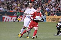 DC United goalkeeper Troy Perking (23)  DC United defeated AC. Milan 3-2 at RFK Stadium, Wednesday May 26, 2010.