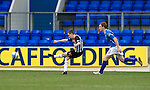 St Johnstone v Dunfermline....25.02.12   SPL.Paul Burns makes it 2-1.Picture by Graeme Hart..Copyright Perthshire Picture Agency.Tel: 01738 623350  Mobile: 07990 594431