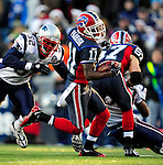 20 December 2009: Buffalo Bills' wide receiver Roscoe Parrish (11) in action against the New England Patriots at Ralph Wilson Stadium in Orchard Park, New York. The Patriots defeated the Bills 17-10. Mandatory Credit: Ed Wolfstein Photo