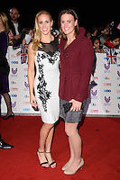 LONDON, UK. October 31, 2016: Helen Glover &amp; Heather Stanning at the Pride of Britain Awards 2016 at the Grosvenor House Hotel, London.<br /> Picture: Steve Vas/Featureflash/SilverHub 0208 004 5359/ 07711 972644 Editors@silverhubmedia.com