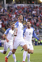 Columbus, Ohio - March 29, 2016: The U.S. Men's National team defeated Guatemala 4-0 in World Cup Qualifying action at MAPFRE Stadium.