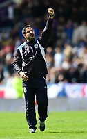 Huddersfield Town manager David Wagner acknowledges the crowd at the end of the game<br /> <br /> Photographer Chris Vaughan/CameraSport<br /> <br /> The EFL Sky Bet Championship Play-Off Semi Final First Leg - Huddersfield Town v Sheffield Wednesday - Saturday 13th May 2017 - The John Smith's Stadium - Huddersfield<br /> <br /> World Copyright &copy; 2017 CameraSport. All rights reserved. 43 Linden Ave. Countesthorpe. Leicester. England. LE8 5PG - Tel: +44 (0) 116 277 4147 - admin@camerasport.com - www.camerasport.com