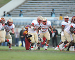 Lafayette High's Demarkous Dennis (5) vs. Laurel in the MHSAA Class 4A championship game at Mississippi Veterans Memorial Stadium in Jackson, Miss. on Saturday, December 3, 2011. Lafayette won 39-29, the team's 32 straight win, to capture their second consecutive state championship.