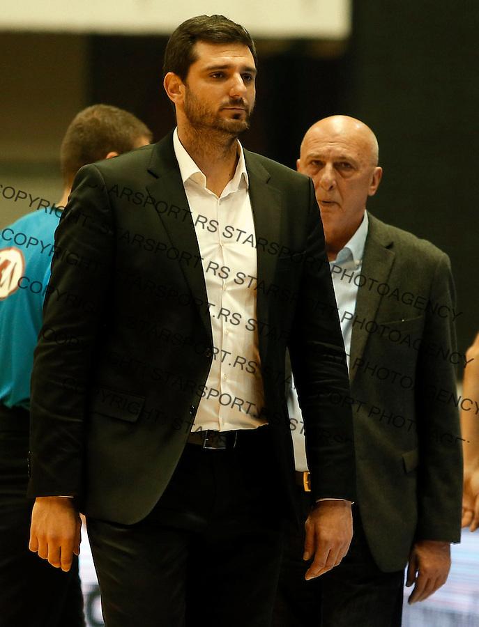 Petar Bozic Dragan Todoric Aba regionalna liga Partizan - Igokea 27.12.1015. December 27. 2015. (credit image & photo: Pedja Milosavljevic / STARSPORT)