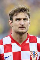 FUSSBALL WM 2014  VORRUNDE    Gruppe A    12.06.2014 Brasilien - Kroatien Nikica Jelavic (Kroatien)