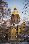 OM1.24.13 Dome Winter Morning.JPG by Matt Cashore/University of Notre Dame
