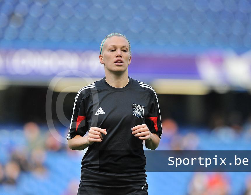 Wolfsburg - Olympique Lyonnais : Lara Dickenmann<br /> foto David Catry / Nikonpro.be