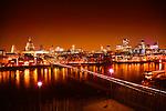 City of London & Millennium Bridge