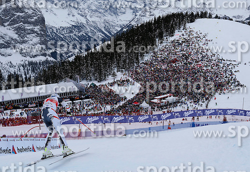 18.01.2014, Lauberhorn, Wengen, SUI, FIS Weltcup Ski Alpin, Wengen, Abfahrt, Herren, im Bild Matthias Mayer (AUT) // in action during the downhill of the Wengen FIS Ski Alpine World Cup at the Lauberhorn in Wengen, Switzerland on 2014/01/18. EXPA Pictures &copy; 2014, PhotoCredit: EXPA/ Freshfocus/ Christian Pfander<br /> <br /> *****ATTENTION - for AUT, SLO, CRO, SRB, BIH, MAZ only*****