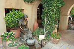 """Hopi Water Maiden"" by Susan Kliewer in Tlaquepaque Shopping Center, Sedona, Arizona."