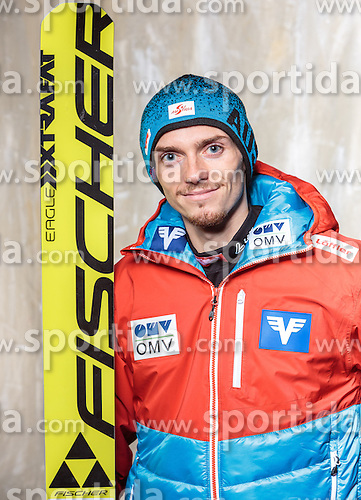 08.10.2016, Olympia Eisstadion, Innsbruck, AUT, OeSV Einkleidung Winterkollektion, Portraits 2016, im Bild Manuel Poppinger, Skisprung, Herren // during the Outfitting of the Ski Austria Winter Collection and official Portrait Photoshooting at the Olympia Eisstadion in Innsbruck, Austria on 2016/10/08. EXPA Pictures © 2016, PhotoCredit: EXPA/ JFK