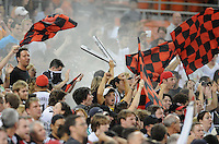 DC United fans.    FC Dallas defeated DC United 3-1 at RFK Stadium, Saturday August 14, 2010.