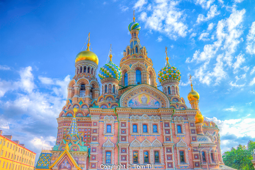 Church of the Spilled Blood, Saint Petersburg, Russian Federation Site of muder of Alexander II in 1881