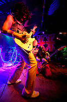 The band Led LOCO plays at Nectar's on Friday night January 20, 2012 in Burlington, Vermont