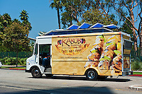 Kabob, Gourmet Food Truck, Mid Wilshire, Los Angeles CA. Miracle Mile district.