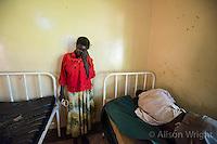 Gulu Mental Hospital patient