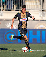 Chester, PA - March 15, 2014: The Philadelphia Union defeated the New England Revolution 1-0 during their Major League Soccer (MLS) match at PPL Park.