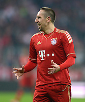 FUSSBALL   1. BUNDESLIGA  SAISON 2012/2013   13. Spieltag FC Bayern Muenchen - Hannover 96     24.11.2012 Franck Ribery (FC Bayern Muenchen)