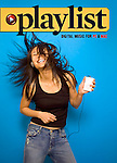 Playlist magazine cover : Tearsheets by San Francisco Bay Area - corporate and annual report - photographer Robert Houser. 2004 pictures.