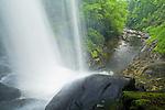 Dry Falls in spring, Cullasaja Gorges