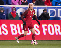 Harrison, NJ - March 4, 2017: England defeated the USWNT 1-0 during the SheBelieves Cup at Red Bull Arena.