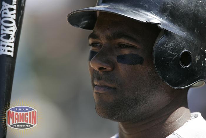 Miguel Tejada. Baltimore Orioles vs Oakland Athletics. Oakland, CA 8/26/2004 MANDATORY CREDIT: Brad Mangin