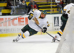 3 February 2008: University of Vermont Catamounts' forward Colin Vock, a Sophomore from Plymouth, MI, in action against the University of Massachusetts Lowell River Hawks at Gutterson Fieldhouse in Burlington, Vermont. The Catamounts defeated the River Hawks 3-2...Mandatory Photo Credit: Ed Wolfstein Photo