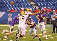 Football vs. Alter at Lucas Oil Stadium  9-7-13