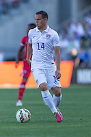 Carson, CA - Sunday, February 8, 2015 Luis Gil (14) of the USMNT. The USMNT defeated Panama 2-0 during an international friendly at the StubHub Center