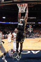 CHARLOTTESVILLE, VA- DECEMBER 6: Jonathan Arledge #5 of the George Mason Patriots shoots next to Malcolm Brogdon #22 of the Virginia Cavaliers during the game on December 6, 2011 at the John Paul Jones Arena in Charlottesville, Virginia. Virginia defeated George Mason 68-48. (Photo by Andrew Shurtleff/Getty Images) *** Local Caption *** Malcolm Brogdon;Jonathan Arledge