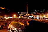 Prizren ist bezogen auf die Einwohnerzahl die zweitgrößte Stadt im Kosovo. / Based on its population, Prizren is the second largest ctown in Kosovo.
