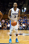 02 November 2013: Duke's Tyler Thornton. The Duke University Blue Devils played the Drury University Panthers in a men's college basketball exhibition game at Cameron Indoor Stadium in Durham, North Carolina. Duke won the game 81-65.