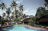 A luxurious resort in Alleppey, Kerala, India.