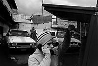 Teheran, Iran, April 2, 2007.Near Tajrish square.