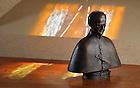 Apr. 14, 2011; Bust of Blessed Basil Moreau..Photo by Matt Cashore/University of Notre Dame